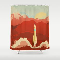 The Uncharted Shower Curtain