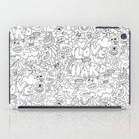 LOVE HARD iPad Case