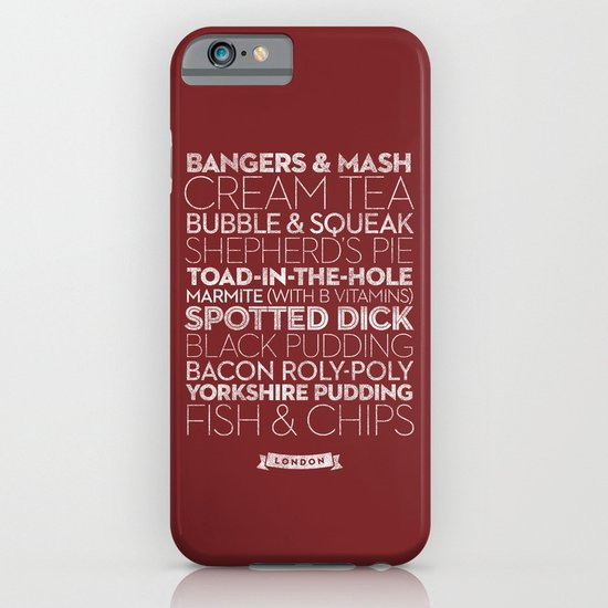 London — Delicious City Prints iPhone & iPod Case