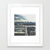 London Below  Framed Art Print