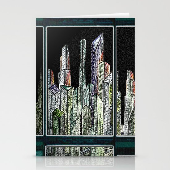 Room with a view Stationery Card