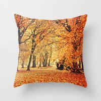 Another forest Throw Pillow