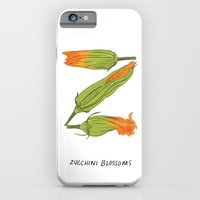 Z is for Zucchini Blossoms iPhone 6 Slim Case