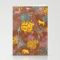 Animal Print Stationery Cards