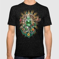 Star Gazer Mens Fitted Tee Tri-Black SMALL