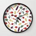 Vegetable Wall Clock