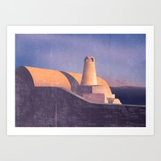 Architexture Art Print