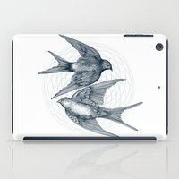 Two Swallows iPad Case