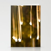 Bokeh of Stars Stationery Cards