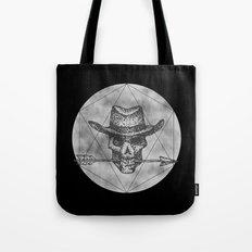 Dead Sheriff on dark Tote Bag