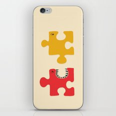 Puzzle Monster iPhone & iPod Skin
