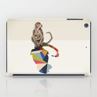 Walking Shadow, Monkey iPad Case