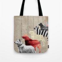 All alone Tote Bag