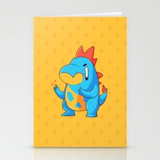 Croconaw Stationery Cards