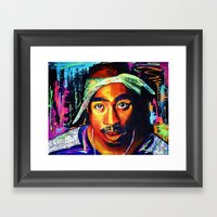 Tupac Shakur Framed Art Print