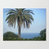 Vacation Paradise Canvas Print