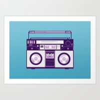Listen to my... Art Print