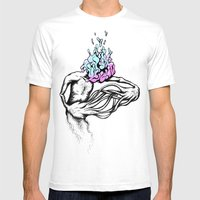 Gathering My Thoughts Fo… Mens Fitted Tee White SMALL