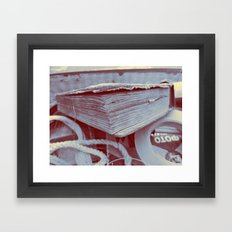 just a book you'll say Framed Art Print