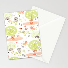 Woodland babies Stationery Cards