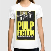 pulp fiction T-shirts featuring PULP FICTION by Rikartdo