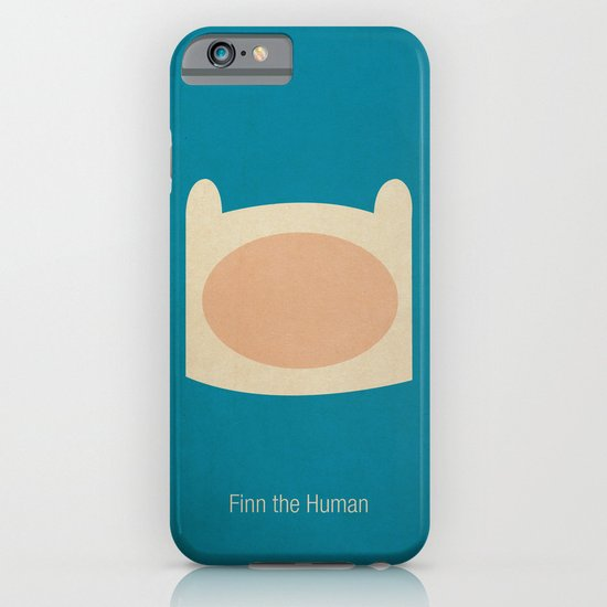 Minimalist Adventure Time Finn iPhone & iPod Case