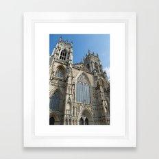 York City Minster Framed Art Print