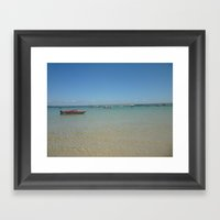 St. Ives Seaside Framed Art Print