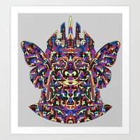 Dimensional Traveller Art Print