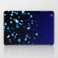 Twinkele Blue Stars iPad Case