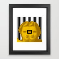 Oh Framed Art Print