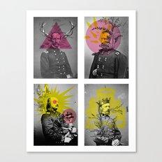 Civility Canvas Print