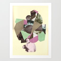 cabezona Art Print