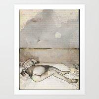 E-nude Art Print