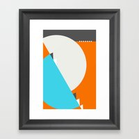 Spot Slice 04 Framed Art Print