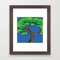 Tree Love Framed Art Print