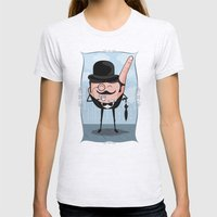 Sir Pinky Womens Fitted Tee Ash Grey SMALL