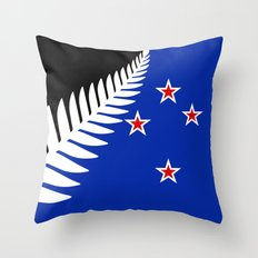 NZ flag (that nearly made it) 2016 Throw Pillow
