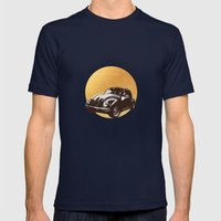Beatle Mens Fitted Tee Navy SMALL