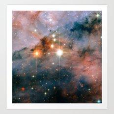 Mammoth Stars Art Print