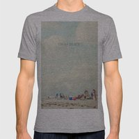 summer days... Mens Fitted Tee Athletic Grey SMALL