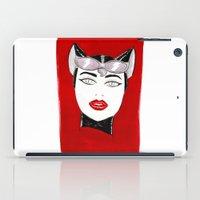 80's Fashion Catwoman iPad Case
