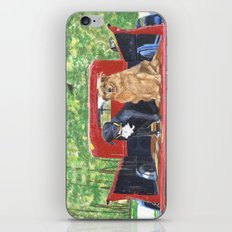 Antique Truck with Dogs iPhone & iPod Skin