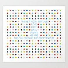 Thirty Seconds To Mars ;… Art Print