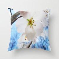 Cherry Blossom-1 Throw Pillow
