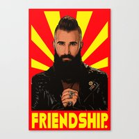 Friendship  |  Paul Abrahamian  |  Big Brother Canvas Print
