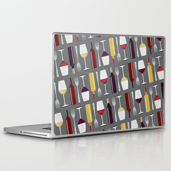 Food & Wine Laptop & iPad Skin