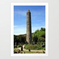 Round Tower Art Print