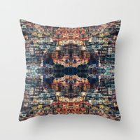 UNTITLED ⁜ ALIGNED #0… Throw Pillow