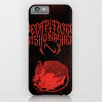 Decapitated by dishwasher III (red) iPhone 6 Slim Case